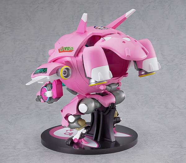 Overwatch D.Va's MEKA is Combat Ready with Good Smile Company