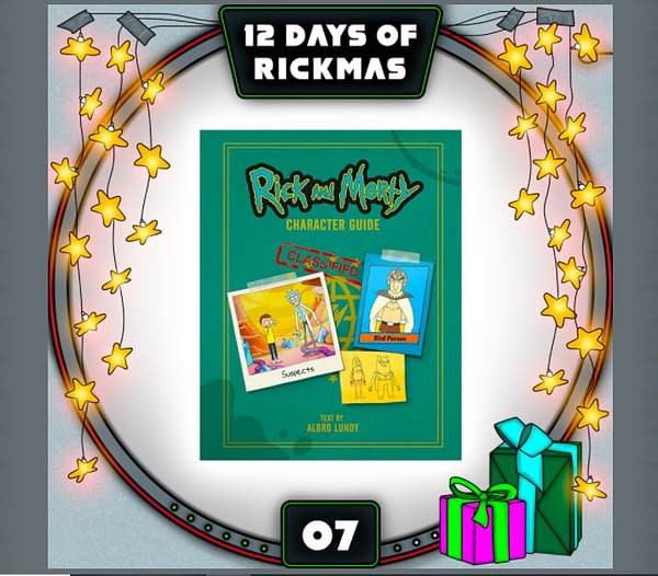 Rick and Morty: The 12 Days of Rickmas Day #7 Has Us Hitting the Books