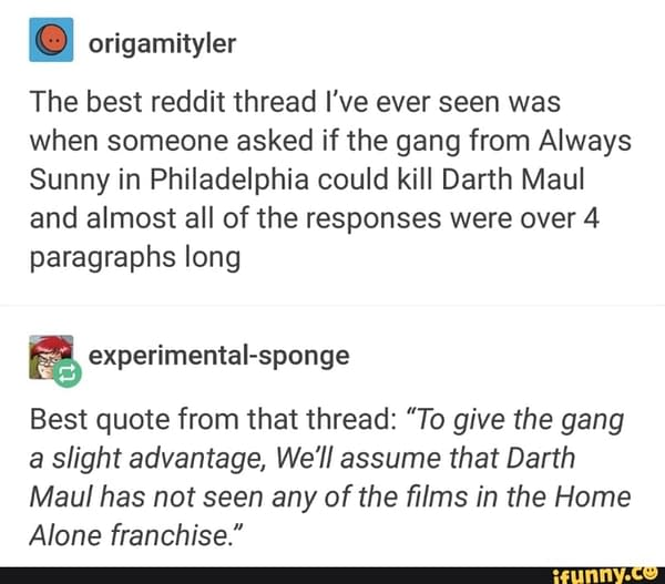 It's Always Sunny For Darth Maul - The Daily LITG, 2nd October 2020