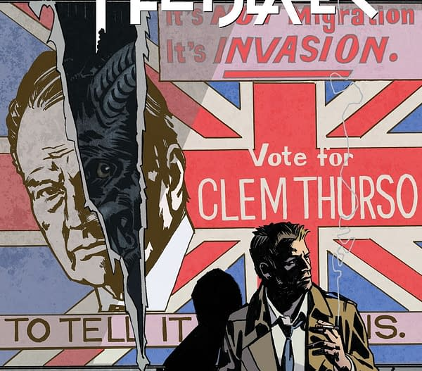 Si Spurrier On Quoting Prime Minister Boris Johnson In John Constantine: Hellblazer #11