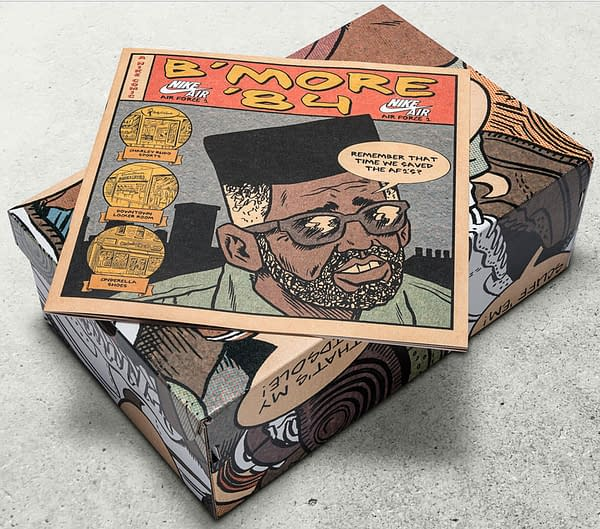 Ed Piskor's Next Comic Is A Shoe Box Story Of How Baltimore Saved The Nike AF-1