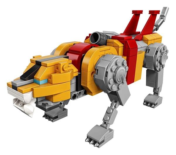 LEGO Ideas Voltron Set 12