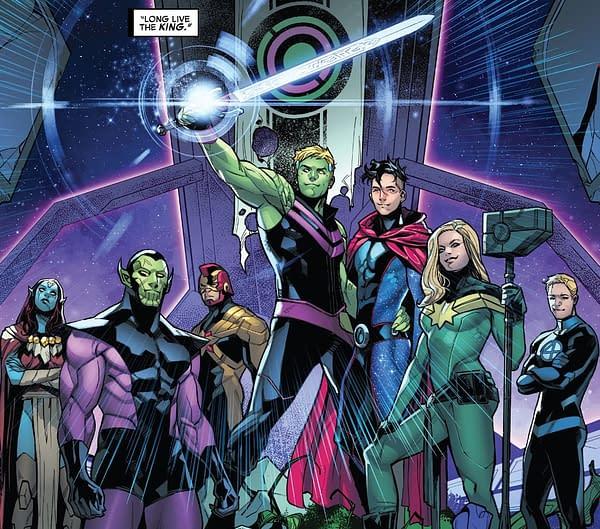 End Of The Empyre Reveals Marvel Comics Future