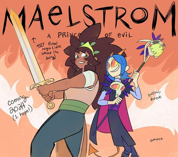 YA Graphic Novel Debut Maelstrom by Lora Merriman Sells For 6 Figures