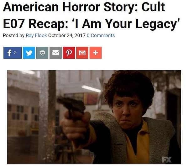 'Cult' Following E08: Bleeding Cool's American Horror Story LIVE-BLOG!