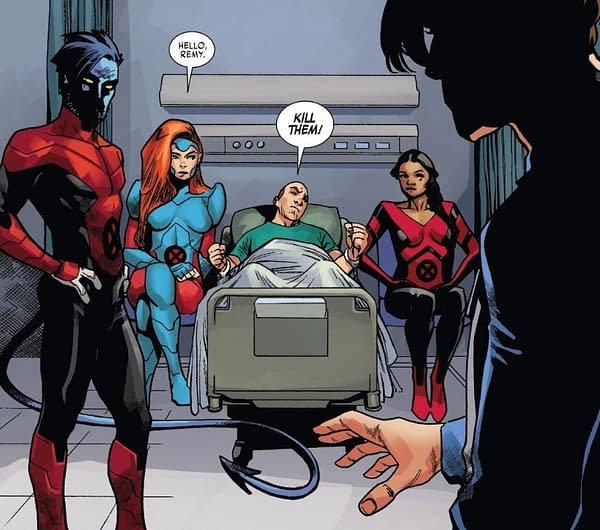 X-ual Healing: A Sweet New Paint Job in X-Men Red #5