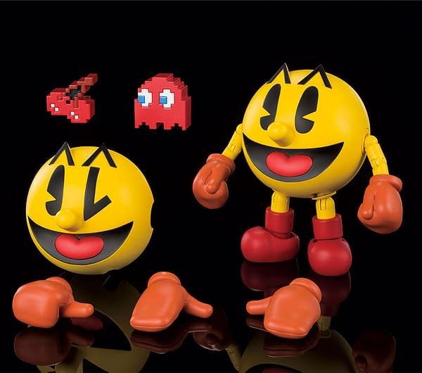 Pac-Man Goes for a High Score With S.H. Figurarts