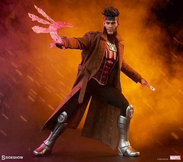 Marvel Comics X-Men's Gambit Plays His Hand With Sideshow