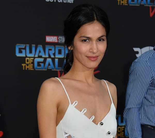"""LOS ANGELES, CA - April 19, 2017: Elodie Yung at the world premiere for """"Guardians of the Galaxy Vol. 2"""" at the Dolby Theatre, Hollywood. (Featureflash Photo Agency / Shutterstock.com)"""