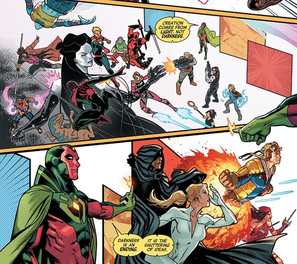 Why is Long Island the Centre Of the Marvel Universe? Avengers No Road Home #10 Spoilers