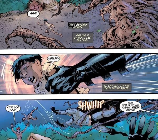 Now Michael Grey Takes On Poison Ivy in Batman: Gotham Nights.