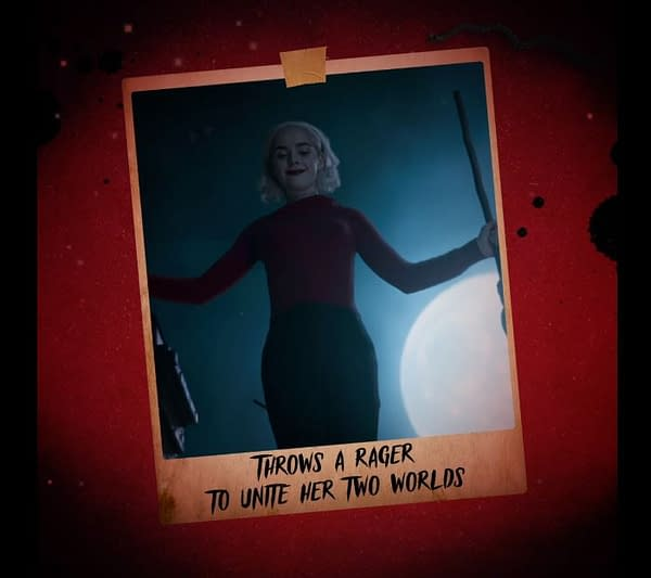 Chilling Adventures of Sabrina celebrates Halloween and Sabrina's birthday. (Image: Netflix)