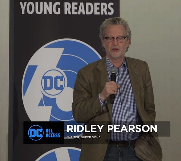 Ridley Pearson's Super Sons Graphic Novel Will See Refugees Come to Denver and Lincoln, Nebraska