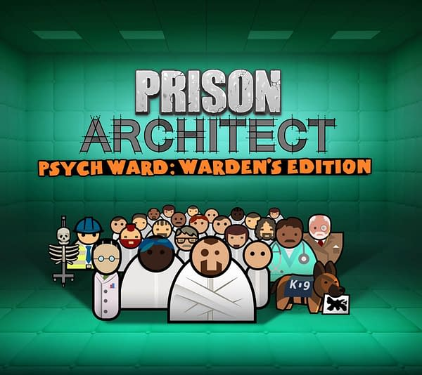 """Prison Architect – Psych Ward: Wardens Edition"" Revealed At PDXCON"