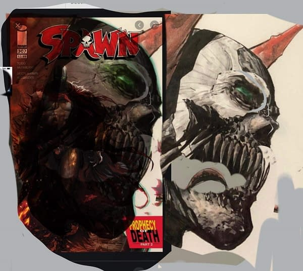Separated At Birth: Francesco Mattina and Johnny Desjardins on Spawn.