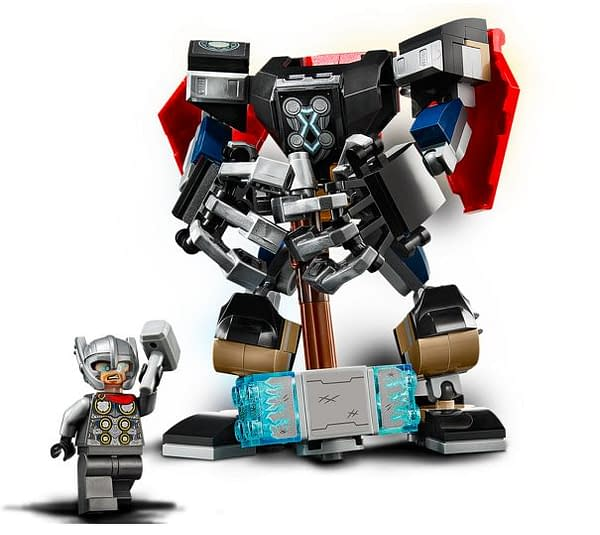 Marvel Heroes Get Their Own Mech Suits With LEGO