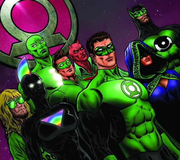 DC Comics Give Us New Team - The Green Lanterns of the Multiverse