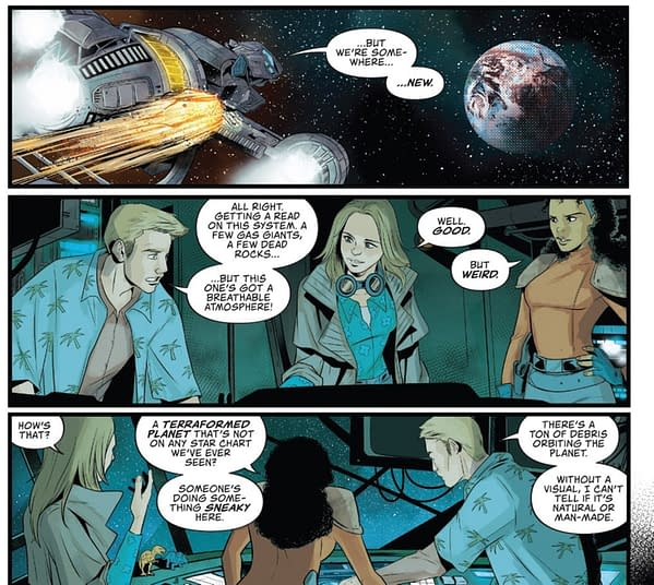 Firefly Comic Makes A Big Change To The 'Verse (Spoilers)