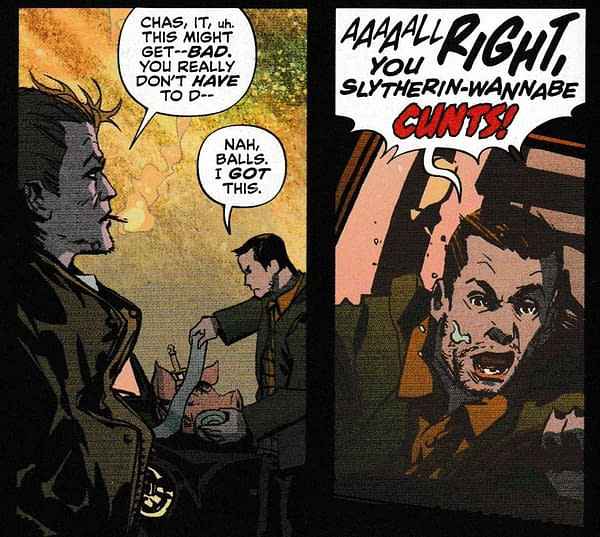 A New Swear Word For DC Comics in Today's Sandman Presents: Hellblazer