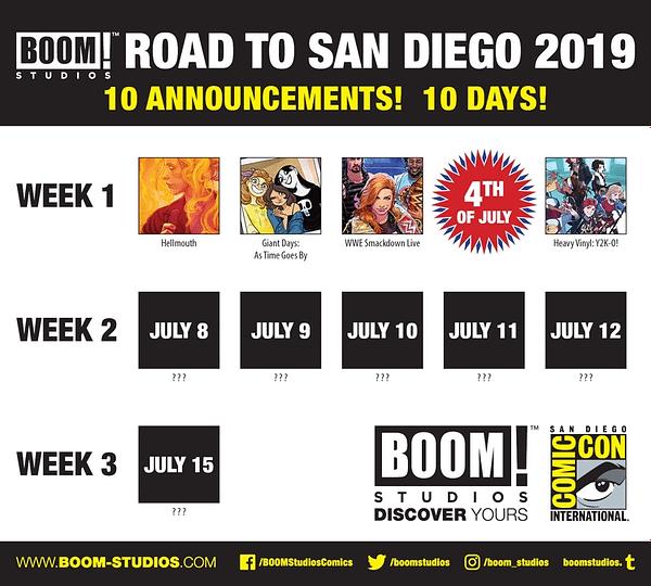BOOM! Announces New Heavy Vinyl OGN for 2020