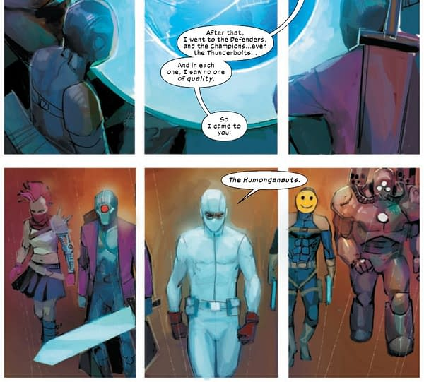 Fantomex And The Marvel Universe