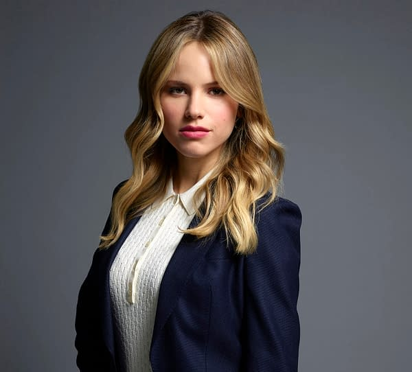 Halston Sage as Ainsley in Prodigal Son (Image: Mark Seliger/ FOX).