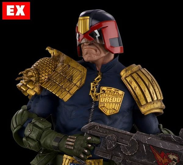 Judge Dredd Gets a Ridiculously Cool Statue From PCS Collectibles