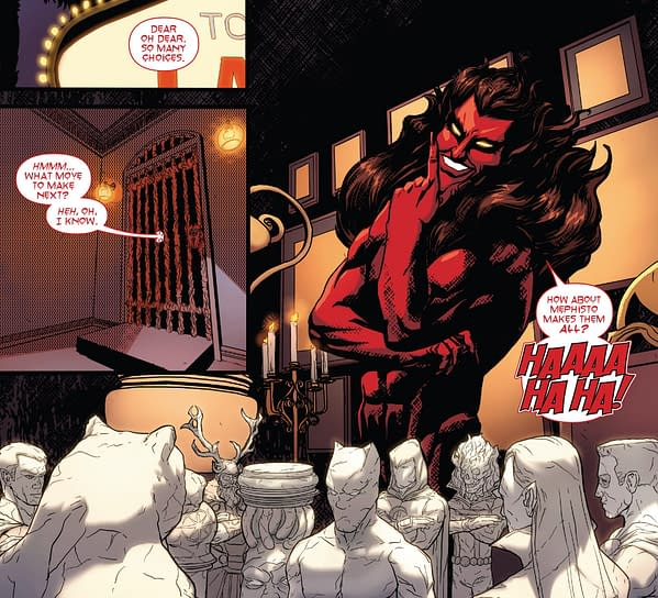 What Are Marvel Comics' Plans For Mephisto? Will We Know In December?
