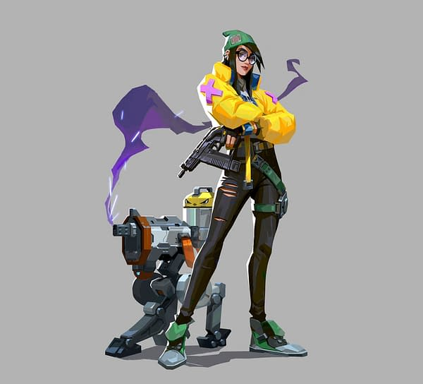 A look at Killjoy before she makes her way into Valorant next week, courtesy of Riot Games.