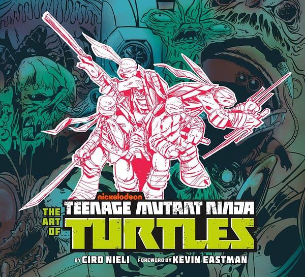 Dark Horse Finds Turtle Power in Art of Teenage Mutant Ninja Turtles Hardcover
