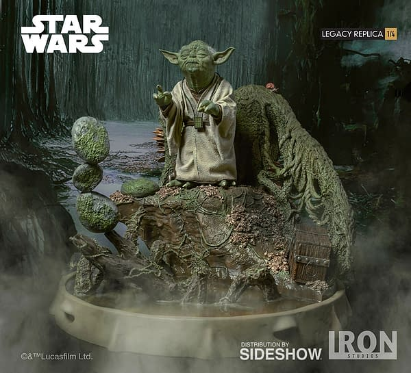 Yoda Gets an Amazing Statue From Iron Studios, Coming 2019