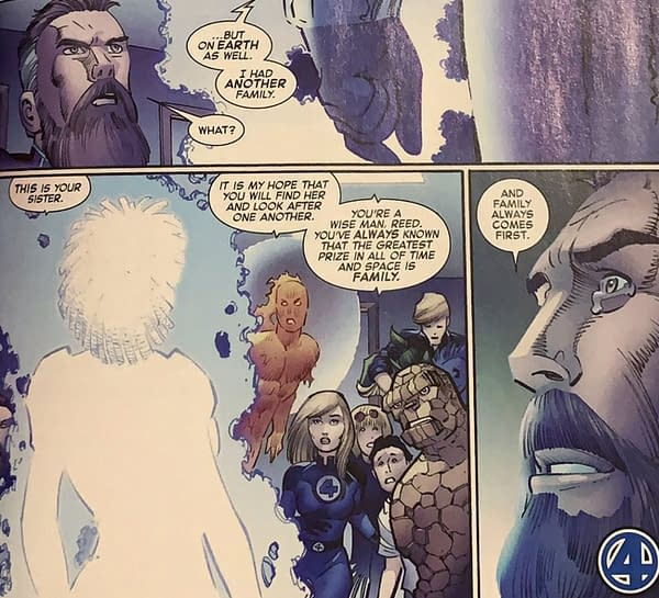 Fantastic Four #35 Introduces A New Family Member (Spoilers)