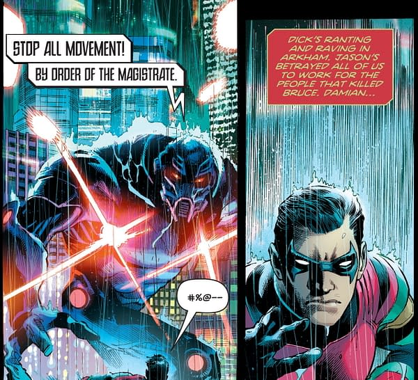 Jason Todd, Dick Grayson, Stephanie Brown in Today's DC Future State