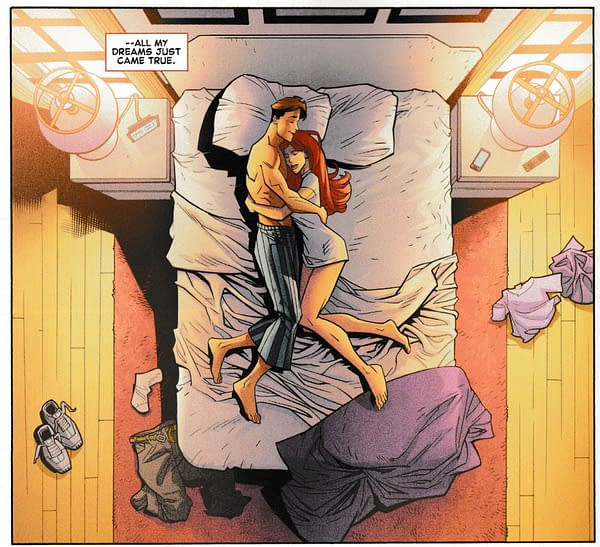 MIA: Renew Your Vows in October? Because of Amazing Spider-Man #2 Spoilers?