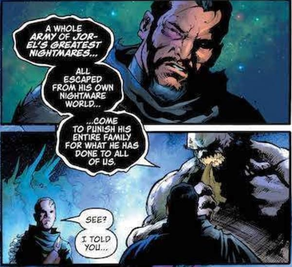 Looks Like Zod is the One Kneeling in This Superman #11 Preview