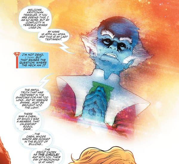 Brian Bendis Brings Conspiracy Groups Against Krypton