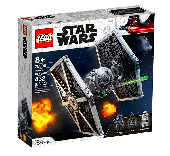 Takes To The Skies with New LEGO Star Wars X-Wing and TIE Fighter Sets
