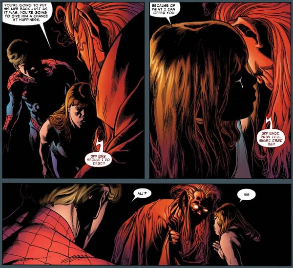 What Did Mary Jane Watson Really Say To Mephisto?