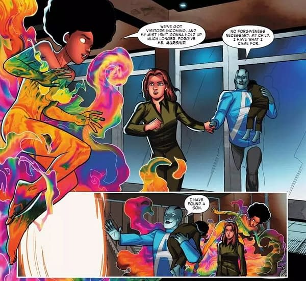 This Time It's Kitty Pryde Who's Robbing the Cradle in Next Week's Apocalypse and the X-Tracts #2