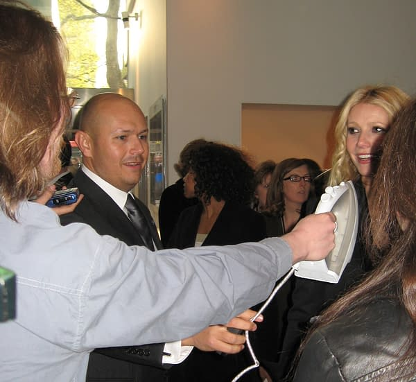 When I Took An Actual Iron To The London Premiere Of Iron Man In 2008