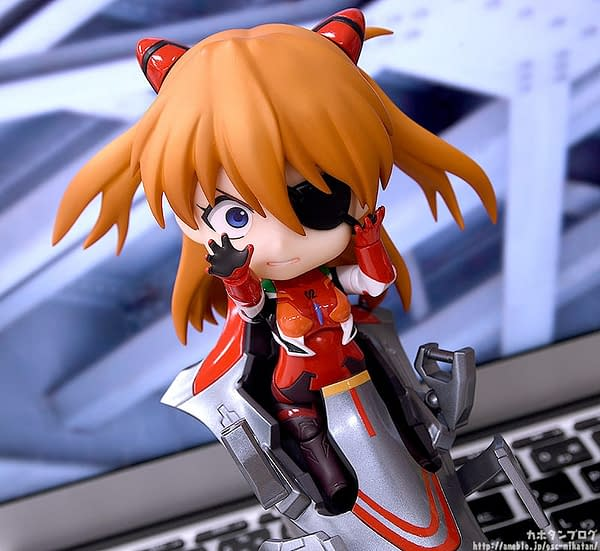 Evangelion Asuka Arrives With New Good Smile Company Nendoroid