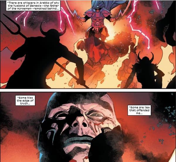 X-Men #14 Has Genesis Give Her Version Of Summoner's Tales Of Arrako