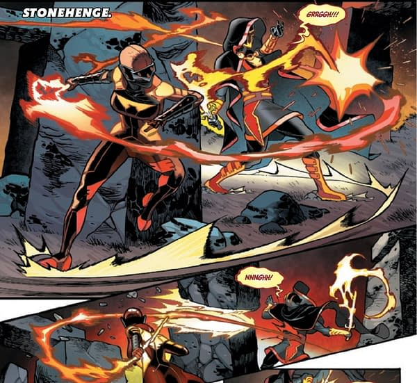 Black Panther Vs Wolverine in Avengers #43
