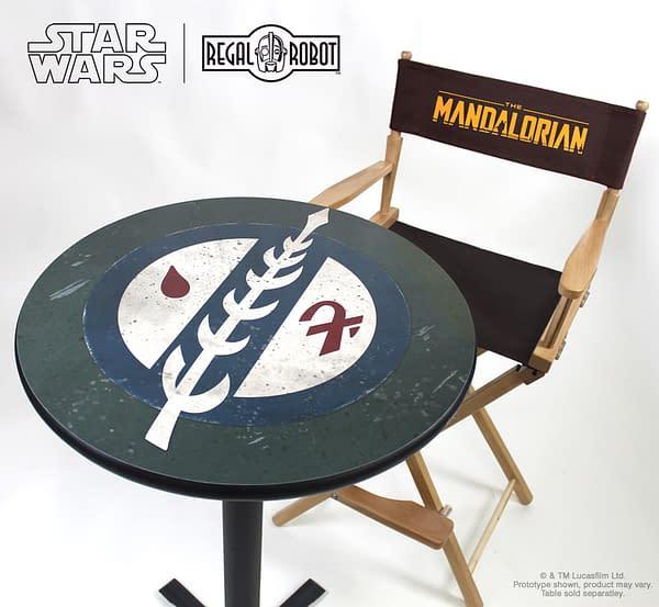 Star Wars: The Mandalorian Directors Chair Arrives at Regal Robot