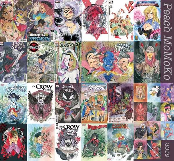 Peach Momoko Has Signed An Exclusive Deal With Marvel Comics