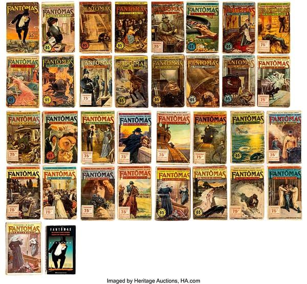 Fantomas Vols. 1-32 Complete Vintage Paperback Series (Arthème Fayard, 1911-13)