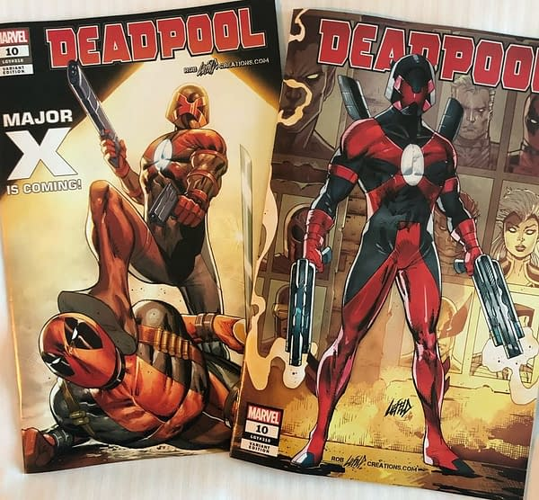 Rob Liefeld Will Never Sign Spider-Man/Deadpool #47, the First Appearance of Major X?