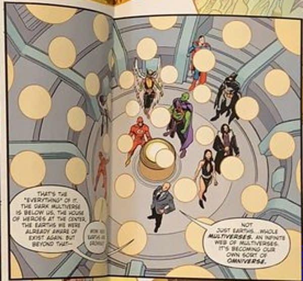 Death Metal #7 And The DC Comics Omniverse, Tomorrow