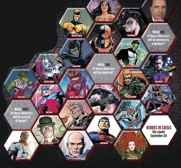 One Confirmed Heroes In Crisis #1 Death (SPOILERS)