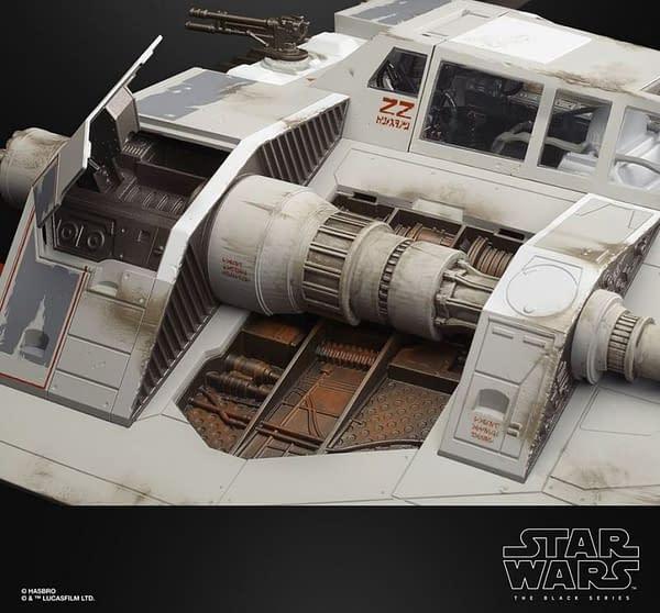 Star Wars Black Series Deluxe Snowspeeder from Hasbro
